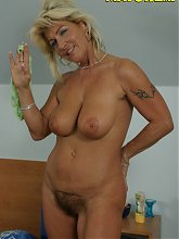 Horny housewife getting banged by a younger man